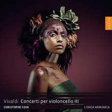 Antonio Vivaldi (1678-1741): Cellokonzerte RV 400,404,407,415,420,423, CD