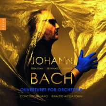 Johann Sebastian Bach (1685-1750): Orchestersuiten Nr.1-4, 2 CDs