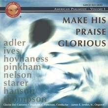 "Gloriae Dei Cantores - American Psalmody Vol.1 ""Make His Praise Glorious"", CD"