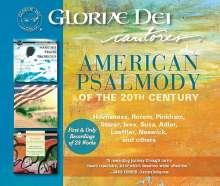 Gloriae Dei Cantores - American Psalmody, 3 CDs