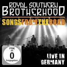 Royal Southern Brotherhood: Songs From The Road: Live In Germany 2012, 1 CD und 1 DVD