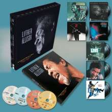 Luther Allison: A Legend Never Dies (Essential Recordings 1976 - 1997) (180g) (Limited Numbered Edition), 10 LPs und 4 DVDs