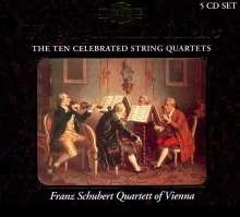 Wolfgang Amadeus Mozart (1756-1791): Streichquartette Nr.14-23, 5 CDs
