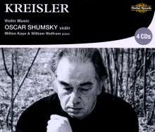 Fritz Kreisler (1875-1962): Werke für Violine & Klavier, 4 CDs
