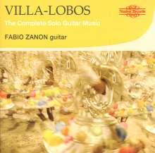 Heitor Villa-Lobos (1887-1959): Etüden für Gitarre Nr.1-12, CD