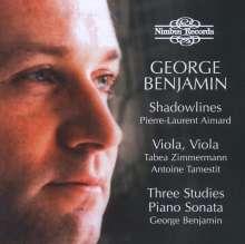 George Benjamin (geb. 1960): Klaviersonate, CD