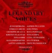 Legendary Voices, CD