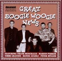 Muschalle/Pyrker/Grasser/Gugolz/Müller: Great Boogie Woogie News, CD