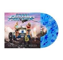 Steel Panther: Heavy Metal Rules (Blue Vinyl), LP