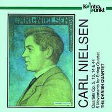 Carl Nielsen (1865-1931): Streichquartette opp.5,13,14,44, 2 CDs
