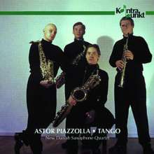 Astor Piazzolla (1921-1992): Tangos für Saxophonquartett, CD