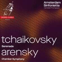 Anton Arensky (1861-1906): Kammersymphonie op.25 (nach Tschaikowskys Streichquartett Nr.2), CD