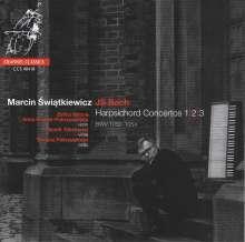 Johann Sebastian Bach (1685-1750): Cembalokonzerte BWV 1052-1054 (für Cembalo & Streichtrio), CD