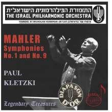 Gustav Mahler (1860-1911): Symphonien Nr.1 & 9, 2 CDs