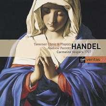 Georg Friedrich Händel (1685-1759): Karmeliter-Vesper (1707), 2 CDs