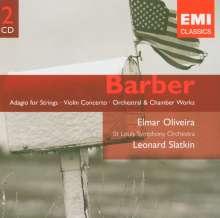 Samuel Barber (1910-1981): Essays for Orchestra Nr.1-3, 2 CDs
