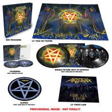 Anthrax: For All Kings (Limited Super Deluxe Box) (Picture Disc), 2 LPs und 2 CDs