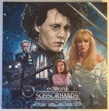 Danny Elfman (geb. 1953): Filmmusik: Edward Scissorhands (30th Anniversary Deluxe Edition) (180g) (Ice Sculpture Blue Vinyl), LP