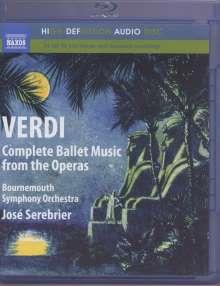 Giuseppe Verdi (1813-1901): Ballettmusik, Blu-ray Audio