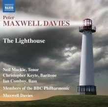 Peter Maxwell Davies (1934-2016): The Lighthouse (Kammeroper), CD