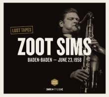 Zoot Sims (1925-1985): Lost Tapes: Baden-Baden 1958, CD