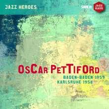 Oscar Pettiford (1922-1960): Baden-Baden 1959 / Karlsruhe 1958, CD