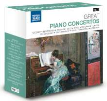 Great Piano Concertos, 10 CDs