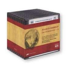 Joaquin Rodrigo (1901-1999): Das Orchesterwerk (Exklusiv für jpc), 10 CDs