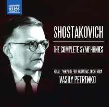 Dmitri Schostakowitsch (1906-1975): Symphonien Nr.1-15, 11 CDs