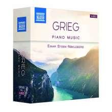 Edvard Grieg (1843-1907): Sämtliche Klavierwerke, 14 CDs