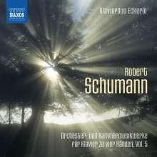 Robert Schumann (1810-1856): Orchester- und Kammermusikwerke für Klavier zu 4 Händen Vol.5, CD
