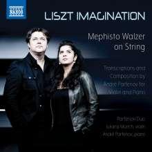 Franz Liszt (1811-1886): Klavierwerke in Transkriptionen für Violine & Klavier, CD
