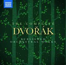 Antonin Dvorak (1841-1904): The Complete Dvorak Published Orchestral Works, 17 CDs