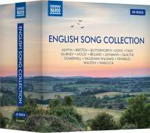 English Song Collection, 25 CDs
