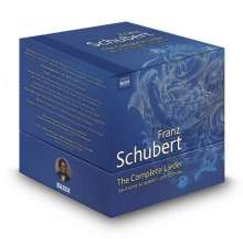Franz Schubert (1797-1828): Sämtliche Lieder (Booklet in englischer Sprache), 38 CDs