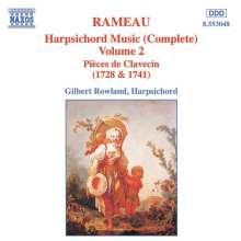 Jean Philippe Rameau (1683-1764): Cembalowerke Vol.2, CD