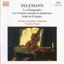 Georg Philipp Telemann (1681-1767): Suiten für Orchester, CD