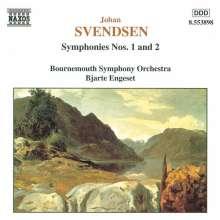 Johan Svendsen (1840-1911): Symphonien Nr.1 & 2, CD