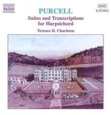 Henry Purcell (1659-1695): Cembalosuiten Nr.1-8, CD
