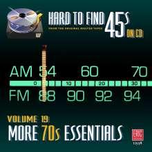 Pop Sampler: Hard To Find 45s On CD 19: More 70's, CD