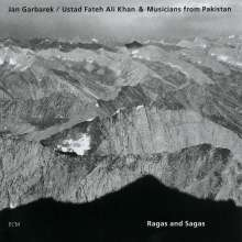 Jan Garbarek (geb. 1947): Ragas & Sagas, CD