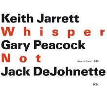 Keith Jarrett (geb. 1945): Whisper Not: Live In Paris 1999, 2 CDs