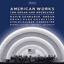 American Works for Organ & Orchestra, CD