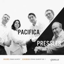 Menahem Pressler & Pacifica Quartet, CD