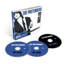 The Pretenders: Get Close (Deluxe Edition), 2 CDs und 1 DVD