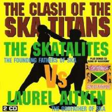 The Skatalites Vs Lautel Aitken: Clash Of The Ska Titans / Guns Of Navarone, 2 CDs