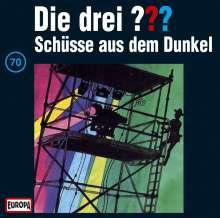 Die drei ??? (Folge 070) - Schüsse aus dem Dunkel, CD