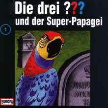 Die drei ??? (Folge 001) und der Super-Papagei, CD