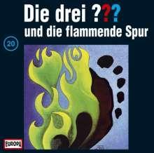 Die drei ???: Die drei ??? und die flammende Spur (Folge 20) (Limited-Edition) (Picture Disc), LP