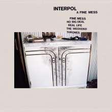 Interpol: A Fine Mess, CD